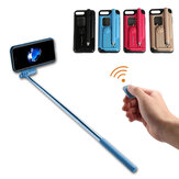 Creative All In One Tragbarer Bluetooth Selfie Stick mit Fernbedienung Schutzhülle für iPhone 7/8/7 Plus/8 Plus