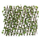 Garden Patio Yard Imprenta Artificial Ivy Hoja Decoraciones de la Cerca de la Pantalla