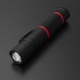 [DE] 3 em 1 310lm infravermelho em forma de L LED Lanterna 180 ° Headlight ajustável Blacklight Luz de trabalho magnética