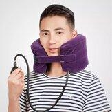 YUWEILL C-forme dispositif de traction du cou cervical Massage de la colonne vertébrale collier d'oreiller de voyage attelle cou civière hamac Support pour soulagement de la douleur au cou Fatigue Relax de Xiaomi Youpin