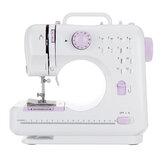 Máquina de coser doméstica de 2 velocidades 12 puntadas Máquina de coser micro mini eléctrica multifuncional
