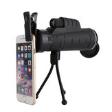35X50 Phone Telescope Light Compact Telescope Outdoor com Tripés para Telefone