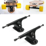 2Pcs Skateboard Trucks Longboard Forged Hollow Cross Trucks Outdoor Cycling