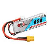 Gaoneng GNB 7.4V 450MAH 80C 2S Lipo Батарея XT30 Plug