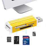 All in One USB 2.0 MS Duo MS Pro Micro SD MS T-Flash High Speed Card Reader