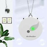 Mini Wearable Purificador de ar Colar Portátil Gerador de Íons Negativos Remover PM2.5 Formaldeído