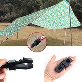 Namiot zewnętrzny markiza baldachim przednia szyba plastikowa klamra klamra akcesoria do mocowania liny wiatrowej