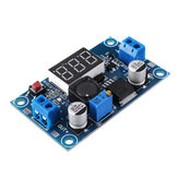 LM2596 DC-DC Voltage Regulator Modul Adjustable Step Down Power Supply Dengan Tampilan