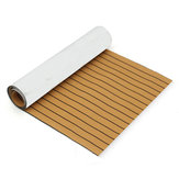 900mmx2400mmx5.5mm Gold and Black EVA Foam Faux Teak Sheet Boat Yacht Synthetic Teak Decking