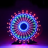 Geekcreit® - Modèle à grande roue Music Spectrum: kit électronique 51 Kit à puce unique Colorful LED Flash