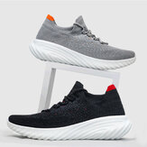 FREETIE Sneakers 2 Sport Version Antibacterial Men's Running Shoes Ultralight Breathable Elastic Non-slip Daily Sports Shoes Casual Socks Walking Shoes