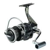 ZANLURE BA2000-5000 5.5:1 12+1BB Fishing Reel Full Metal Bearing Stainless Steel Spinning Wheel