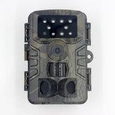 PR700 20MP 1080P Câmera de detecção de faixa de caça de 120 ° Câmera de caça à caça à prova d'água com Auto IR Filtro para monitoramento da vida selvagem