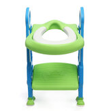 Children's Potty Training Toilet Soft Pad Ladder Potty Seat Chair Step Stool Safety Toilet Trainer for Kids