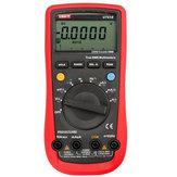 UNI-T UT61E Multímetro Digital de Alcance Automático CA/CC Medidor Ciclo Trabalho Freqüência Capacitância Resistência Amplificador Tensão