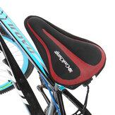 CoolChange Soft Funda de cojín de sillín de bicicleta transpirable a prueba de golpes Silicona Almohadilla de asiento para bicicletas de carretera MTB Bicicletas
