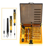 Bakeey ™ 45 in 1 Präzisions-Hardware-Schraubendreher-Set Reparatur-Tool-Kits für Xiaomi iPhone Notebook Nicht original