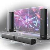 Ev Ses ve TV Hoparlörü Soundbar bluetooth Hoparlör Süper Bas Stereo Hoparlör RCA kablosu ile Telefon PC Bilgisayar için