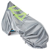 Protective Cover With Reflective Sign 2-3 Bikes For Motorhome Bike Waterproof Sunscreen