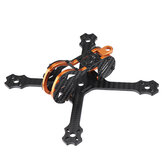 Eachine Tyro79 140 mm 3-duims DIY-versie FPV Racing Frame-set 3 mm arm carbonvezel