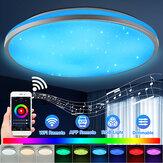 30W WiFi LED Lampa sufitowa Okrągłe inteligentne światła Colorful Bezprzewodowa lampa ścienna Home obsługuje Alexa Google Home