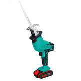 Electric Cordless Reciprocating Saw 4 Blades Battery Charger Saw Power Tool