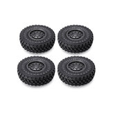 4PCS HG P602 1/12 Upgraded Alloy Wheel Rims Tires 6ASS-P07 RC Car Vehicles Model Spare Parts