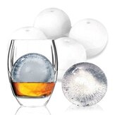 KCASA KC-IM01 4 Spherical Round Silicone Ice Lattice Cube Mold Maker Tray Whiskey Cocktail Party