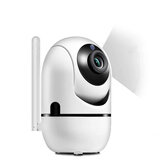 Xiaovv Q10 Little Yellow Man Smart AI IP-camera H.265 Wifi 360 ° Nachtversie PTZ IP-camera Home Babyfoon EU-stekker