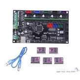 MKS-GEN V1.4 3D Printer Mainboard+5Pcs DRV8825 Driver for 3D Printer Compatible with Mega 2560 R3/RepRap Ramps1.4