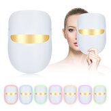 New LED Seven-color Spectrometer Color Light Photon Skin Rejuvenation Instrument Home Mask Instrument Mask