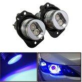12v LED l'auréole d'yeux d'ange de phare sonne la lumière bleue à la lampe d'ampoule pour bwm e90 e91
