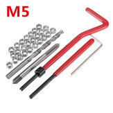 30Pcs Damaged M5 Thread Repair Tool Kit Repair Recoil Insert Kit