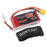 GARTPOT 7.4V 1500mAh 50C 2S XT60 Plug Lipo Battery for RC Racing Drone