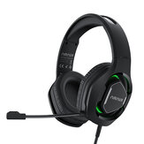 BlitzWolf® AirAux AA-GB2 Gaming Headphone 7.1 Surround Sound LED Light Stereo Powerful Bass Computer Gaming Headset with Noise Canceling Microphone