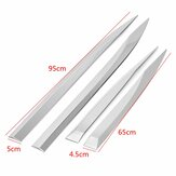 4pcs/Set Door Body Chrome Side Molding Protector Trim Stainless Steel For Peugeot 3008