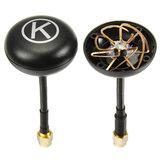 Eachine K-Loverleaves 5.8G 5dBi 6 Feuilles Trèfle Mushroon Antenne RHCP SMA/RP-SMA 1 Paire pour FPV VTX RX