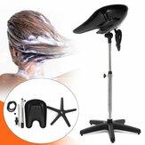 Portable Shampoo Basin Height Adjustable Salon Hair Treatment Bowl Tool