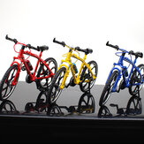 1:10 3D Mini Multi-color Alloy Mountain Racing Bicycle Rotatable Wheel Diecast Model Toy for Decoration Gift