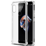 Bakeey Transparent Shockproof Soft TPU Protective Case For Xiaomi Redmi Note 5/Redmi Note 5 Pro