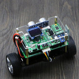 DIY STM32 Smart RC Balance Car bluetooth APP Control Ultrasonic Obstacle Avoidance Following Mode With OLED Screen