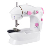 Mini Sewing Machine 2 Speeds Portable Electric Sewing Tools Kit with Light