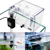 Aquarium Transparent Haus Inkubator Box für Isolation Hatchery Cage Externe Hang-on Züchter Fischzucht