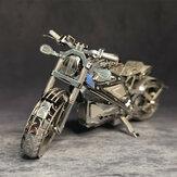 Avengers Motosiklet 3D Metal Montaj Modeli Bulmaca Masaüstü Dekorasyon Oyuncaklar