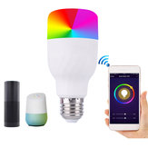 E27 7W Dimmerabile RGBW APP WIFI LED Lampadina Intelligente per Alexa Google Home AC85-265V