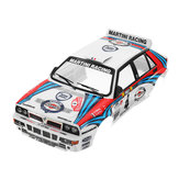 Killerbody voiture Shell 48248 Lancia Delta Rally-Racing Imprimé 1/10 électrique Touring RC Car Parts