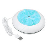 Portable Mini USB Ultrasonic Clothes Washer Washing Machine Spin Laundry Washer