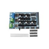 Upgrade Ramps 1.6 Base On Ramps 1.5 4-layer Control Panel Papan Ekspansi Mainboard Untuk Bagian Printer 3D
