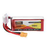 ZOP POWER 11.1V 1500mAh 100C 3S Lipo البطارية مع XT60 Plug