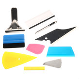 8 Em 1 Squeegee Car Window Tinting Auto Film Install Wrapping Applicator Tools